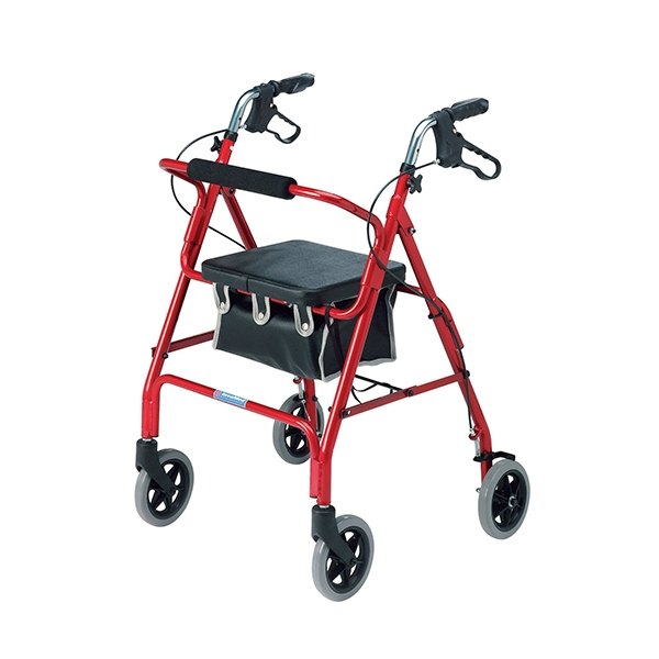 2462: Lightweight 4 Wheel Rollator