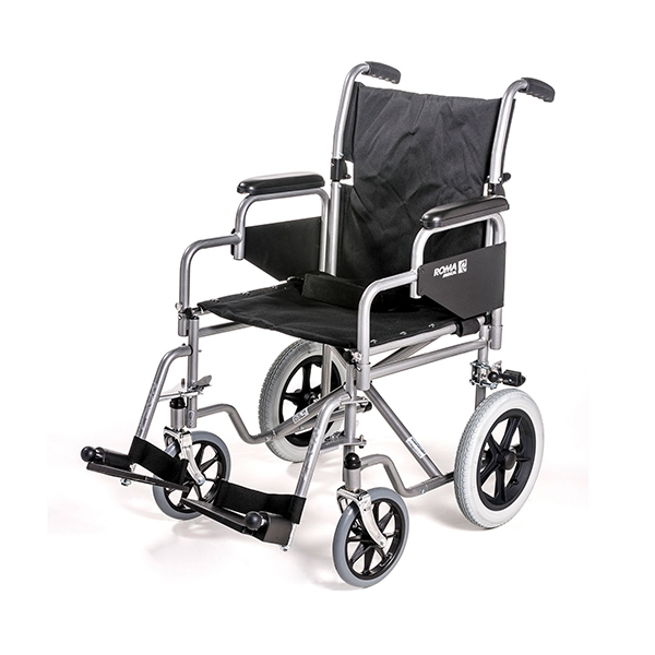 1100: Car Transit Wheelchair with Detachable Arms